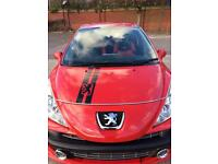 Top of the range Peugeots 207 M player