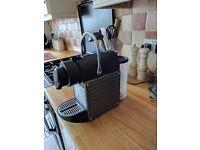 Nespresso pixie coffee machine. Fully working