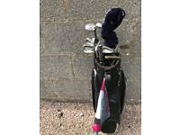 Professional Brand Name Set of Golf Clubs at Bargain Price