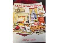 Calvin and Hobbs Lazy Sunday Book