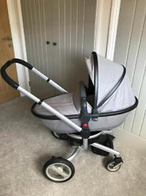 Silver Cross Surf Pram with Carrycot - Needs to go