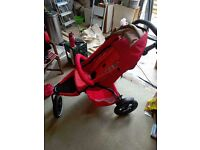 Phil and Teds Dash Pushchair with Double Kit and lots of Accessories and buggy Board