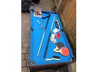 CHILDREN'S GAMES TABLE / POOL / TABLE TENNIS / AIR HOCKEY