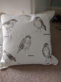 Brand new John Lewis bird cushion