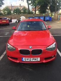 2012 BMW 1 series 116D F20 FREE ROAD TAX FOR SALE