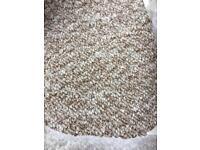 ‼️Brand New Carpet Roll End‼️ 3.39m X 4m Beige Loop