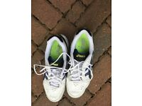 Asics tennis shoes size 10