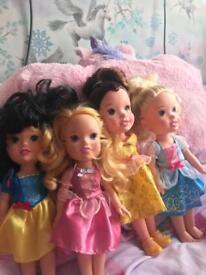 Disney princess toddler dolls