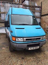 Iveco Van for sale 2001, Diesel Good Price £1000