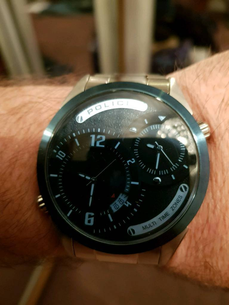 Men's police samba watch bnib