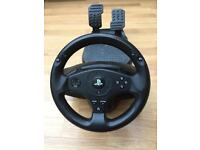 PlayStation Steering Wheel & Pedals