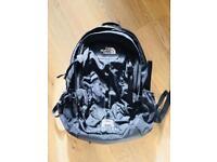 North Face Bag Hot Shot Day Backpack in Black