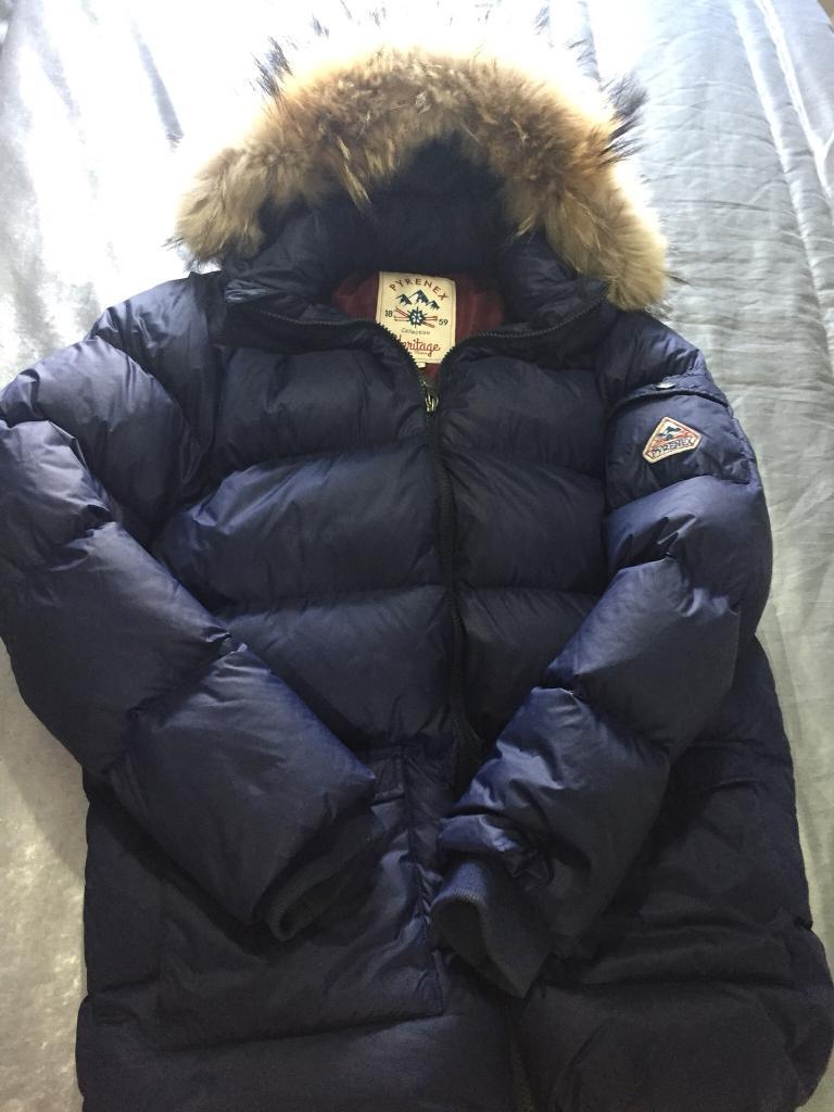 710585c23 Age 16 Pyrenex coat navy blue | in Liverpool, Merseyside | Gumtree