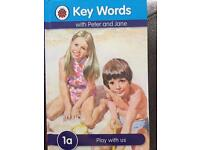 Key Words with Peter and Jane book