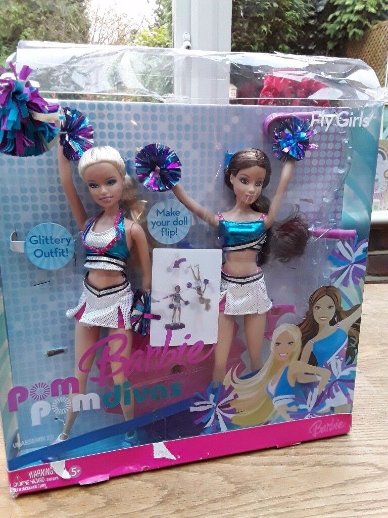 Vintage pom pom barbie divas 2006