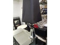 Black mirror table light