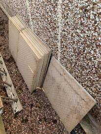 Ceramic garden slabs