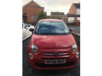 Fiat 500 2016 in red for sale