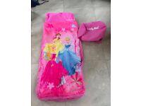 Disney Princess inflatable sleeping bag - Ready bed