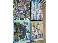 4x jigsaw puzzles for sale