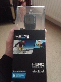 Go pro hero session 8mp. Unwanted gift never been removed from box.