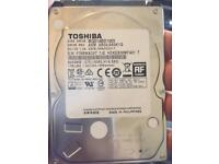 Toshiba sata hard drive 1tb