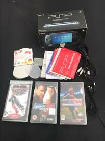 SONY PSP GAMES PLUS ACCESSORIES