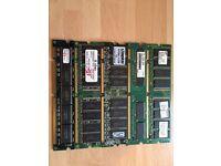 832MB SDRAM Desktop,512MB DDR1 Desktop,2GB DDR2 Notebook