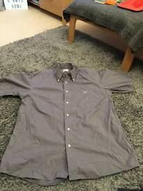 Mens Lacoste Short Sleeve Shirt