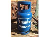 Calor Gas Butane 7kg Bottle and Low Pressure LPG Regulator