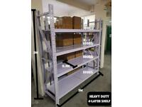 Heavy duty all metal large shelves 4 layer 2meters long
