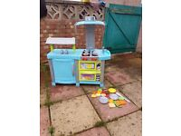 Kids Play Kitchen with food items and accessories - Chad Valley (Argos price - £55)