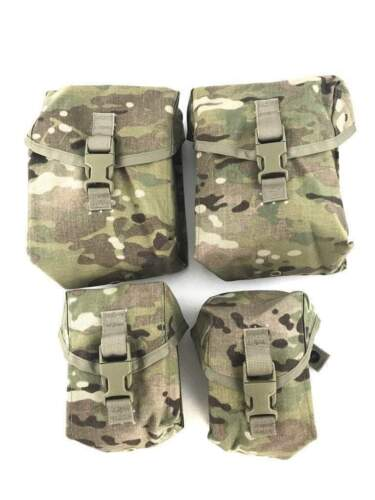 SAW GUNNER SET - 2 200 RD SAW POUCHES AND 2 100 RD SAW POUCHES  - GRADE A