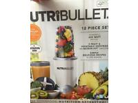 NUTRIBULLET 12 piece set