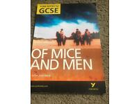 GCSE of mice and men exam revision book
