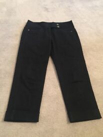 3/4 leg Denim Jeans - Autograph Weekend - with turnups