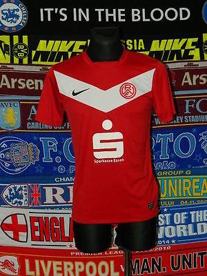 4/5 Rot-Weiss Essen adults S 2010 football shirt jersey trikot image