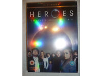 Heroes Complete Seasons 1 & 2 DVD Box Set