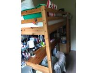 Loft Bed / Cabin Bed with desk