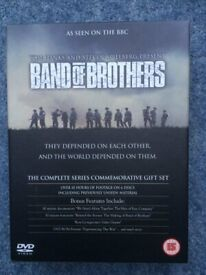 Band Of Brothers - Complete HBO Series Commemorative DVD Video Gift Set (6 Disc Box Set)