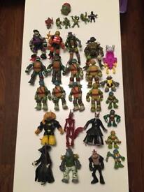 31 Teenage mutant ninjas turtles collection