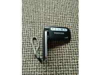 Toshiba camileo hd camera boxed vgc