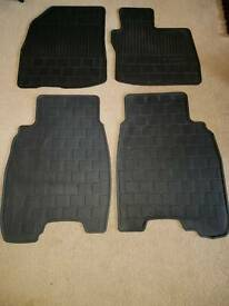 Honda Civic rubber floormats