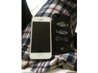 "iPhone 4s with ""carpe diem"" cover"