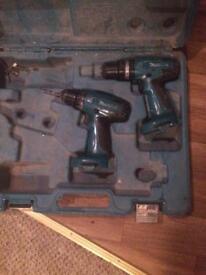 Makita drill set £20 ono