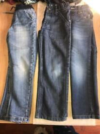 3x boys jeans 6-7 years