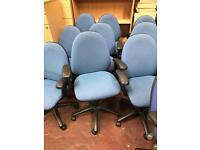 Blue Office Chairs - Computer