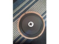 Two G12H Celestion Speakers - one faulty - for spares/repair