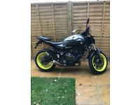 Yamaha MT07 2016 Low Milage