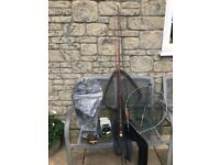 Selection of fly fishing equipment